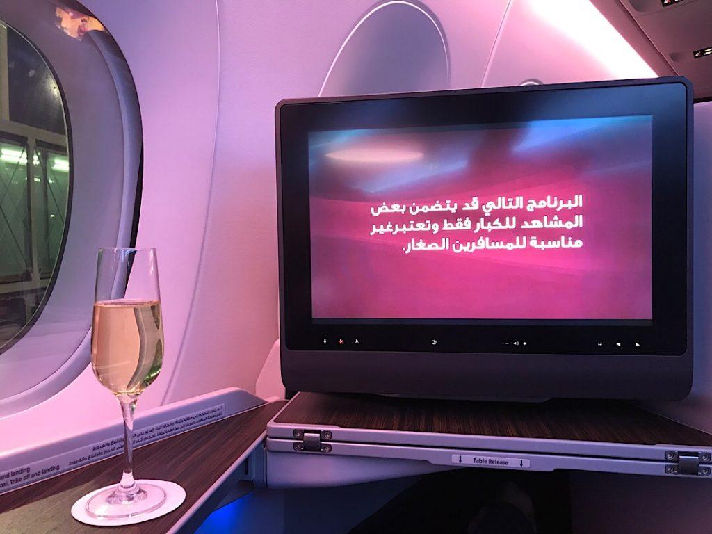 Qatar Airways biznis trieda Ázia