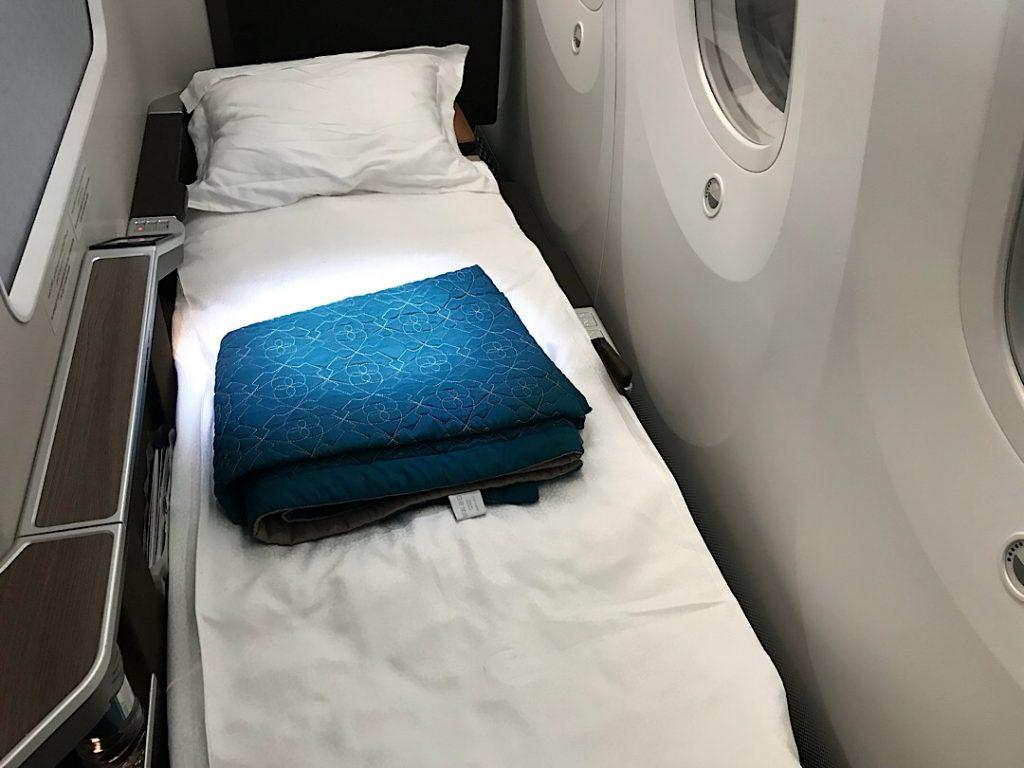 Biznis trieda Oman Air Bangkok