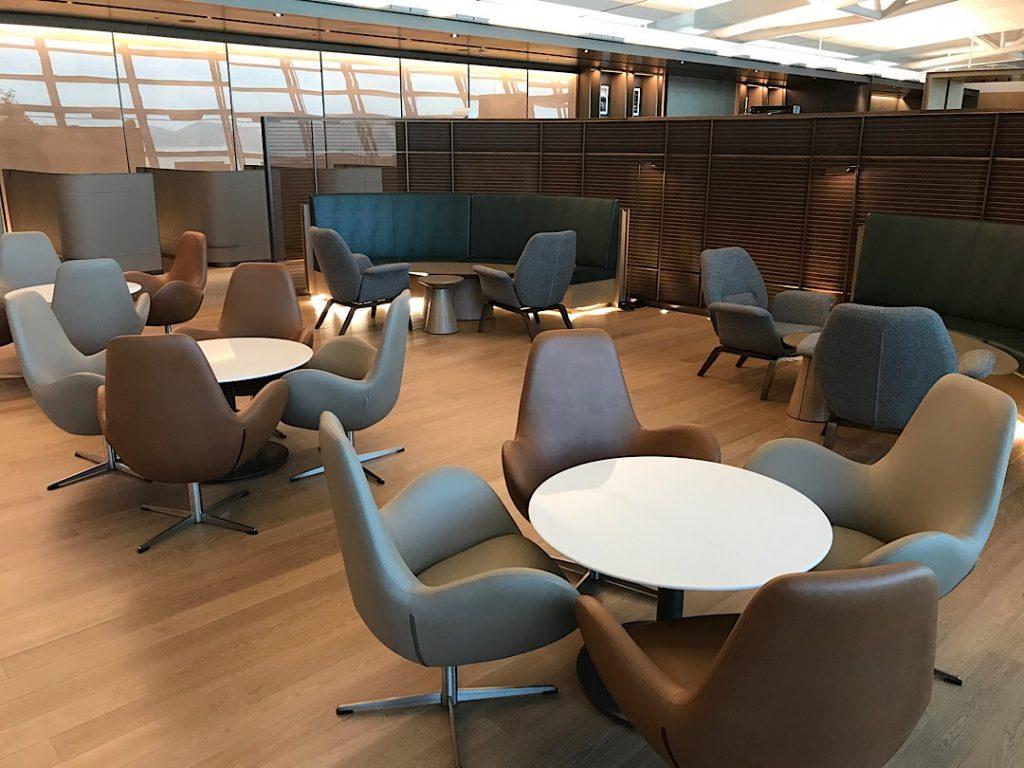 Asiana business class lounge