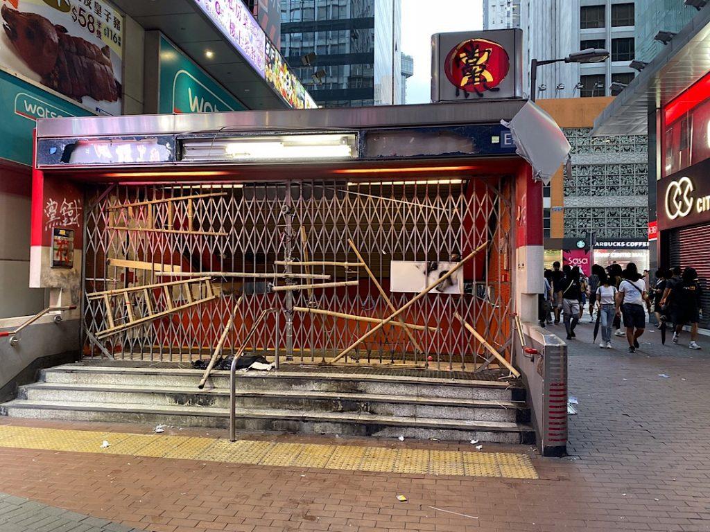 Je Hong Kong bezpečný